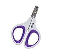 cheap -Cat Grooming Health Care Nail Clipper Portable Purple