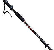 3 Nordic Walking Poles 130cm (51 Inches) Damping Foldable Light Weight Adjustable Fit Aluminum Alloy Camping & Hiking Snowshoeing