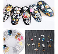 cheap -1PC Alloy Hollow Out Acrylic Nail Art Act The Role Ofing is Tasted