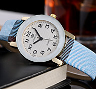 cheap -Women's Quartz Wrist Watch Casual Watch Leather Band Charm Luxury Creative Casual Unique Creative Watch Elegant Fashion Cool Multi-Colored