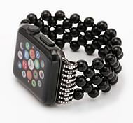 Faixa de relógio para relógio de maçã 38mm série 42mm 1 2 pulseira de substituição de design de jóias