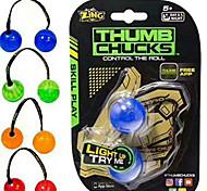 Недорогие -Йойо Мячи Finger Yo yo Устройства для снятия стресса Игрушки Шарообразные Стресс и тревога помощи Веселье пластик Детские Девочки Мальчики