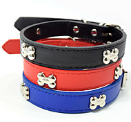 cheap -Cat Dog Portable Solid Bone Nylon Red Blue Black