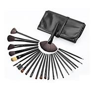 24Pcs Set Professional Makeup Brush Foundation Eye Shadows Lipsticks Powder Make Up Brushes Tools W/ Bag pincel maquiagem