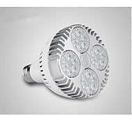 Недорогие -36 Вт 400-450 lm Светодиодные параболические алюминиевые рефлекторы 24 светодиоды Высокомощный LED Белый AC 220-240V