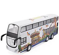 Машинки с инерционным механизмом Игрушечные машинки Грузовик моделирование Автобус Металлический сплав Металл Универсальные Подарок