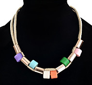 Choker Necklaces Statement Necklaces Women's Cord Length Refill Necklace Party Daily Movie Jewelry Euramerican Fashion