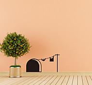 Недорогие -Животные Праздник Отдых Наклейки Простые наклейки Декоративные наклейки на стены 3D,Бумага материал Украшение дома Наклейка на стену