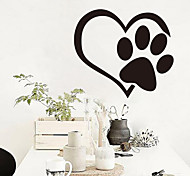 cheap -Animals Leisure Holiday Wall Stickers Plane Wall Stickers Decorative Wall Stickers 3D, Paper Home Decoration Wall Decal Wall Window