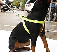 Harness Leash Reflective Portable Breathable Adjustable Safety Solid Nylon