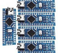 Nano v3.0 atmega328p mejoran las tarjetas de controlador para arduino (5 pcs)