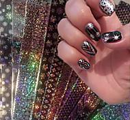 16 Стикер искусства ногтя Фольга зачистки ленты макияж Косметические Ногтевой дизайн
