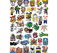 Stickers & Decals for Skateboard 50 pcs Skateboard Sticker