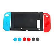 11in 1 Anti-slip Silicone Cover Protective Case Cap For Nintendo Game Switch