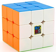 cheap -Rubik's Cube MoYu 3*3*3 Smooth Speed Cube Magic Cube Educational Toy Stress Relievers Puzzle Cube Smooth Sticker Square Gift Unisex