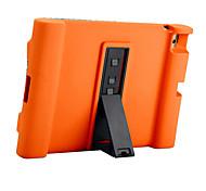 Для ipad ipad 4/3/2 чехол чехол противоударный с подставкой полный корпус корпус сплошной цвет мягкий силикон