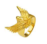 Недорогие -Муж. Жен. Массивные кольца Кольцо Животный дизайн Классический Мода Панк Рок Готика Медь Eagle Животный принт Бижутерия Новогодние