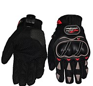 Sports Gloves Bike Gloves / Cycling Gloves Breathable Wearproof Anti-skidding Shockproof Protective Full-finger Gloves Cloth Leisure