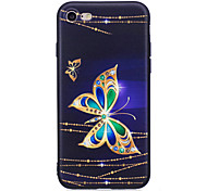 For iPhone X iPhone 8 Case Cover Rhinestone Pattern Back Cover Case Butterfly Soft TPU for Apple iPhone X iPhone 8 Plus iPhone 8 iPhone 7