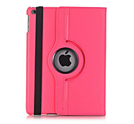 cheap -NEW For iPad 2017 Shockproof With Stand Flip 360 Rotation Magnetic Case Full Body Case Solid Color Hard PU Leather For iPad 2017 9.7 inch iPad Air 2