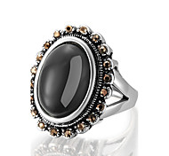 Ring Statement Rings Unique Design Euramerican Fashion Vintage Personalized Luxury Statement Jewelry Resin Alloy Geometric Jewelry For Women