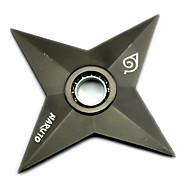 Fidget Spinner Inspired by Naruto Naruto Uzumaki Anime Cosplay Accessories Chrome metal