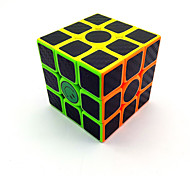 cheap -Rubik's Cube Carbon Fiber 3*3*3 Smooth Speed Cube Magic Cube Puzzle Cube Matte Sticker Competition Gift Unisex