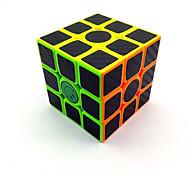 Недорогие -Кубик рубик 3*3*3 Спидкуб Кубики-головоломки головоломка Куб Матовое стекло Пластик Углеродное волокно Квадратный Подарок