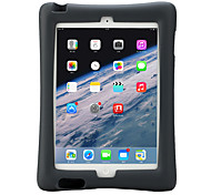 For Apple iPad 4/3/2 Case Cover Shockproof with Stand Child Safe Full Body Case Solid Color Soft Silicone with EVA