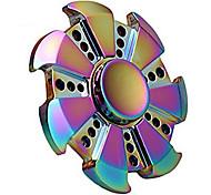 Спиннеры от стресса Ручной обтекатель Волчок Игрушки Игрушки Кольцо Spinner Металл EDCФокусная игрушка Товары для офиса Сбрасывает СДВГ,