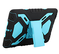 For Apple iPad Pro 9.7'' Case Cover Shockproof with Stand Full Body Case Solid Color Soft Silicone