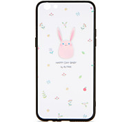 For OPPO R9s  R9s Plus Case Cover Pattern Back Cover Case Pink Rabbit Cartoon Hard PC R9 R9 Plus