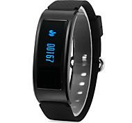 Yy df23 homens da mulher bracelete inteligente / smartwatch / wechat movimento passo cardíaca taxa sono monitor bluetooth desgaste à prova