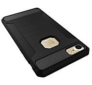 Недорогие -Для iphone 7 плюс 7 ударопрочный корпус задней крышки чехол сплошной цвет мягкий силикон 6 с плюс 6 плюс 6 с 6 5 с 5
