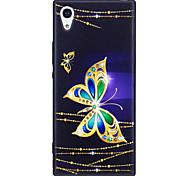 Недорогие -Sony xperia xa1 xz корпус крышка бабочка узор окрашенный выбитый чехол tpu мягкий чехол для телефона