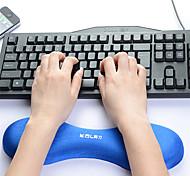 Недорогие -Память хлопок машина клавиатура ручная работа запястье pad коврик для мыши клавиатура