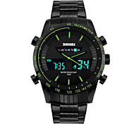 Hombre Reloj Deportivo Reloj de Vestir Reloj Smart Reloj de Moda Reloj de Pulsera Reloj creativo único Chino Digital LCD Compass Con