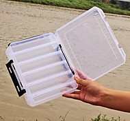Plastic Double Sided High Quality Fishing Box Spinner Bait Minnow Popper Accessories Lure Case Fishing Tackle Box