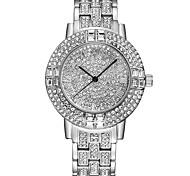 Mujer Reloj de Vestir Reloj de Moda Reloj Pulsera Reloj creativo único Reloj Casual Simulado Diamante Reloj Reloj de Cristal Pavé Chino