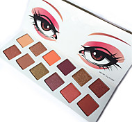 12Colors Eyeshadow Palette Matte Diamond Glitter Foiled Eye Shadow In One Palette Blush