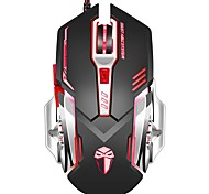 cheap -Gaming Mouse 3200 DPI Wired Programmable 6 Buttons Optical X5 Mice with Colorful Breathing LED