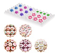 cheap -Baking & Pastry Tools Sphere Flower Heart For Candy Cookie Chocolate Cooking Utensils For Cookie For Cake For Bread Silicon Rubber Sponge