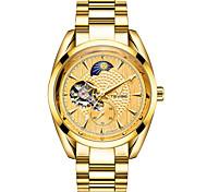 Недорогие -Муж. Спортивные часы Часы со скелетом Модные часы Механические часы Китайский С автоподзаводом Календарь Защита от влаги Светящийся