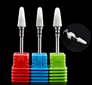 cheap -1PCS Nail Art Ceramic Electric Grinding Head Polishing Nail Tool  Grinding Machine Special Grinding Needle 18#-20# Optional