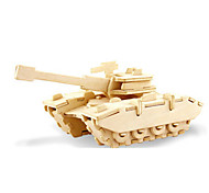 cheap -3D Puzzles Jigsaw Puzzle Wood Model Dinosaur Tank Plane / Aircraft 3D DIY Wooden Wood Classic Unisex Gift