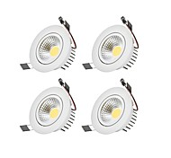 cheap -6W 1 LEDs Dimmable LED Downlights Warm White / Cold White 110-220V Garage / Carport / Storage Room / Utility Room / Hallway / Stairwell