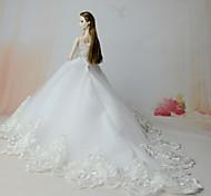 Kleider Kleid Für Barbie-Puppe Kleider Für Mädchen Puppe Spielzeug
