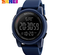 SKMEI Men's Sport Watch Digital Watch Digital PU Band Black Blue Green