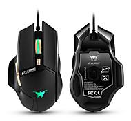 Недорогие -Cw90 3800 dpi с проводными игровыми мышами мышь 6 кнопок дизайн дышащие светодиодные цвета для геймера pc mac