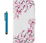 Case For Apple ipod Touch 5 Touch 6 Case Cover Pattern Full Body Case With Stylus Flower Hard PU Leather